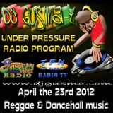 UNDER PRESSURE - Reggae Radio Prog. (April the 23rd)