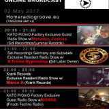20170502 20-21h (gmt+1) Kato PrOmO-Factory Excl. Guest Radio Show w/Metadon Junkies (Sdl Recordings)