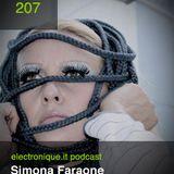 E.P. 207 Electronique Podcast : Simona Faraone - The Alien Dissident Mix
