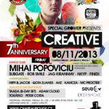 Taada - Live @ Creative (Taada B day) 8.11.2013