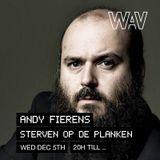 Andy Fierens 'Sterven op de planken' at We Are Various | 05-12-18