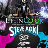 Steve Aoki - Live @ Life in Color NYE Party, Atlantic City (31.12.2012)