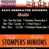 DJ Kris Eytle  Live on StomperS Minions - Bass Generator Radio 1/11/13.  Reverse Bass / Hardstyle