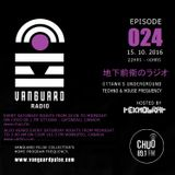 VANGUARD RADIO Episode 024 with TEKNOBRAT - 2016-10-15th CHUO 89.1 FM Ottawa, CANADA