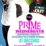 #PRIMEWEDNESDAYS @BACCHUS MR.T,KAYTRIXX & XCLUSIVEDEEJAY RANDOM MARCH LIVE