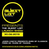 Jason Kinetic Guest MIx : Vic Light's A Lesson In Trance, Slinky FM, April 2010