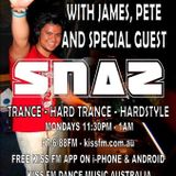 Snaz on Trancegression KissFM - 14 OCT 2013