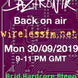 Daztronik Radio show Sept 30 2019 www.wirelessfm.net