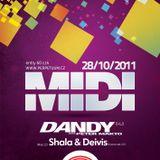 Shala vs. Deivis @ MIDI, Perpetuum (2011-10-28, Brno, CZ)