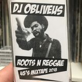 OB'S REGGAE FORTY FIVES MIX 2018