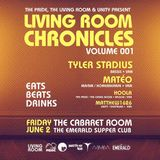 The Living Room Chronicles, The Emerald, June 2, 2017