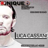 Kunique Too Beat (Radio M2O) Sunday April 14 Guest Luca Cassani