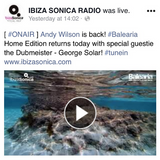 guestmix for BALEARIA on Ibiza Sonica radio 27 march 2018 - a george solar selection