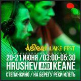 Oleg Keane & Nikita Hrushev - Live @ Asteri Lake Fest 20-06-2015