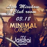 Mr. Jászai Live - Minimal Night - Club Room @ Club Macallan,Nyíregyháza-2016-03-08