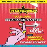 Thomas Solvert - Live @ PROPAGANDA Red&Blue [Antwerp, Belgium] (07-11-2015)