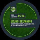 House Saladcast 233 | Bruno Browning (Recorded Live at Nacho House Sundays & Tacos & Beer) 21-6-15