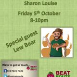 05 10 2018 The Weekend Warm Up with special guest Lew Bear on Beat Route Radio.