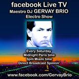 """GERVAY BRIO """"Electro Show"""" on FACEBOOK Live TV 2011.10.26"""