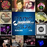 DEEPINSIDE RADIO SHOW 113 (Rhemi Artists of the week)