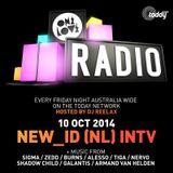 ONELOVE RADIO 10 OCTOBER - NEW_ID INTERVIEW