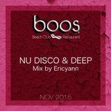 BOOS NU DISCO & DEEP MIX Nove 2015 by ERICYANN