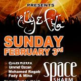 Alex M.O.R.P.H. - Live @ FSOE Night, Space Sharm, Egypt (03.02.2013)