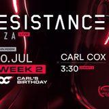 Carl Cox - Live @ Resistance Ibiza (Carl's Birthday) - 30-Jul-2019