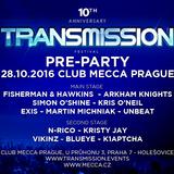 BluEye @ Transmission Pre-Party 2016 @ Club Mecca