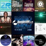 DEEPINSIDE RADIO SHOW 038 (Robert Owens Artist of the week)
