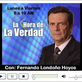 PROGRAMA LA HORA DE LA VERDAD EDITORIAL MIERCOLES 8 DE OCTUBRE DE 2014