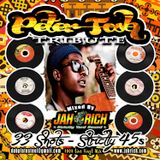 Peter Tosh Tribute MIX CD by Jah Rich - 33 Shots - Strictly 45s