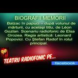 Biografii memorii la teatru radiofoni