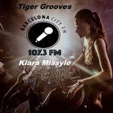 Tiger Grooves Live Radio Mix + Klara Missyle Extra Special Guest Mixx Barcelona City FM 15/12/16