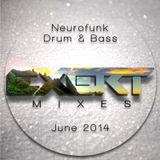 Neurofunk Drum & Bass Mix June 2014