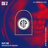 WeDidIt Presents RIP FM - 21st September 2018