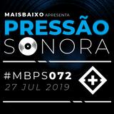 Pressão Sonora - 27-07-2019