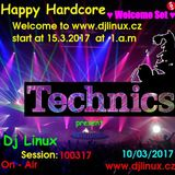 HappyHardcore ♥ Dj Linux (Welcome Set 2017)