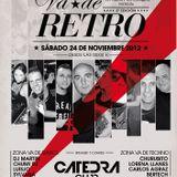 """Luisjo @ Cátedra club en la 3ª edicion de el festival """"Va de retro"""""""