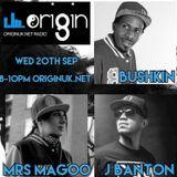 Dj Mrs Magoo MC's Bushkin , J .Banton & Ricochet B . Originuk.net radio