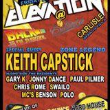 ELEVATION @ BOTANICA,DJ KEITH CAPSTICK - MC BENSON .MP3 24/04/2015