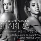 Argoon & Novik + Kenneth G + Shakira Ft Rihanna - Cant Remember To Forget You (Zorak Mashup 2014)