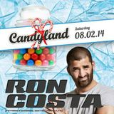 Flight presents one hour of Ron Costa sound [Candyland 2014 promo]