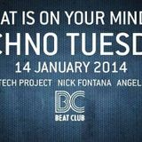 Minitech Project @ Beatclub, Amsterdam 14/01/2014  Techno Tuesday