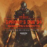 NOUS FM Podcast - sprout's dub 94 (BADMYTH & Keshigomu) - 30th September 2016