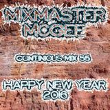 Happy New Year 2016 (The Continious Mix 55)