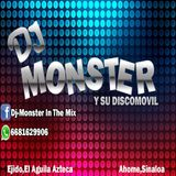 EL MONSTER DJ - POPURRI WEB-ON - LOS CEDREÑOS - RETRO MIX - SELLO