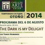 LosTonosHumanos - TR.11 - TheDarkIsMyDelight @ CapillaDelArte_UDLAP - EnkiMedia.mx- 20140806