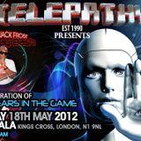 Telepathy Promo mix- JJ Frost's Bday bash 18 May 2012 @ Scala..