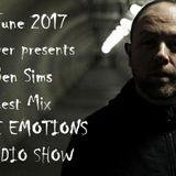 RAVE EMOTIONS RADIO SHOW (13RaVeR) - 14.06.2017. Ben Sims Guest Mix @ RAVE EMOTIONS